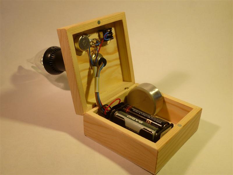 230 volt led lampe batteriebertieben. Black Bedroom Furniture Sets. Home Design Ideas